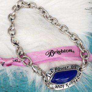 Brighton Mother's Love Blue Lapis Silver Bracelet